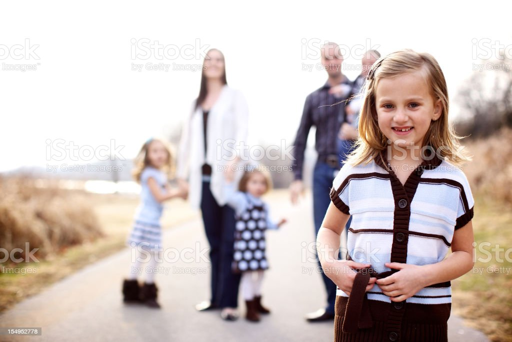 young american family life royalty-free stock photo
