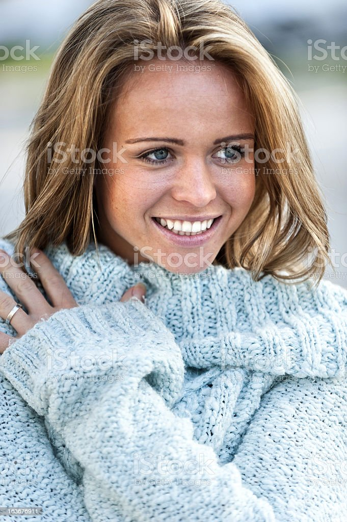 Young American Woman royalty-free stock photo