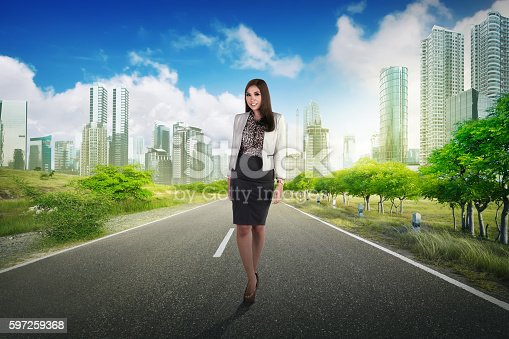 1162297213 istock photo Young and beauty asian business woman 597259368