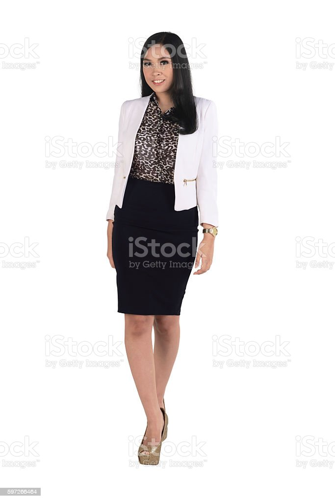 Young and beauty asian business woman royalty-free stock photo