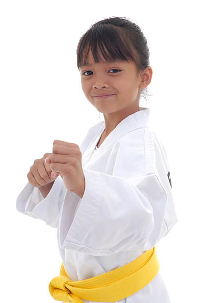 young and confident - martial arts gerville stock photos and pictures