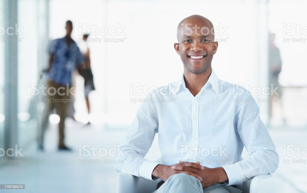 Young and influential stock photo