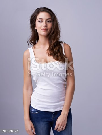 istock Young and naturally gorgeous 507986127