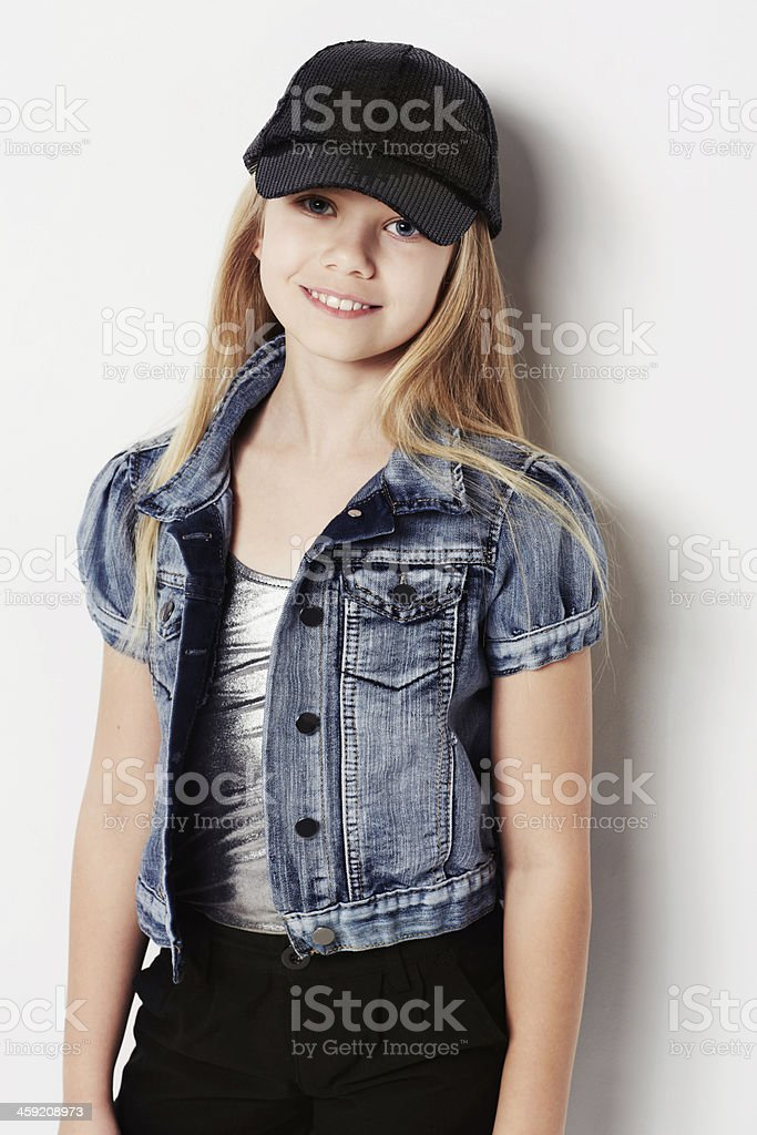 Young and stylish royalty-free stock photo