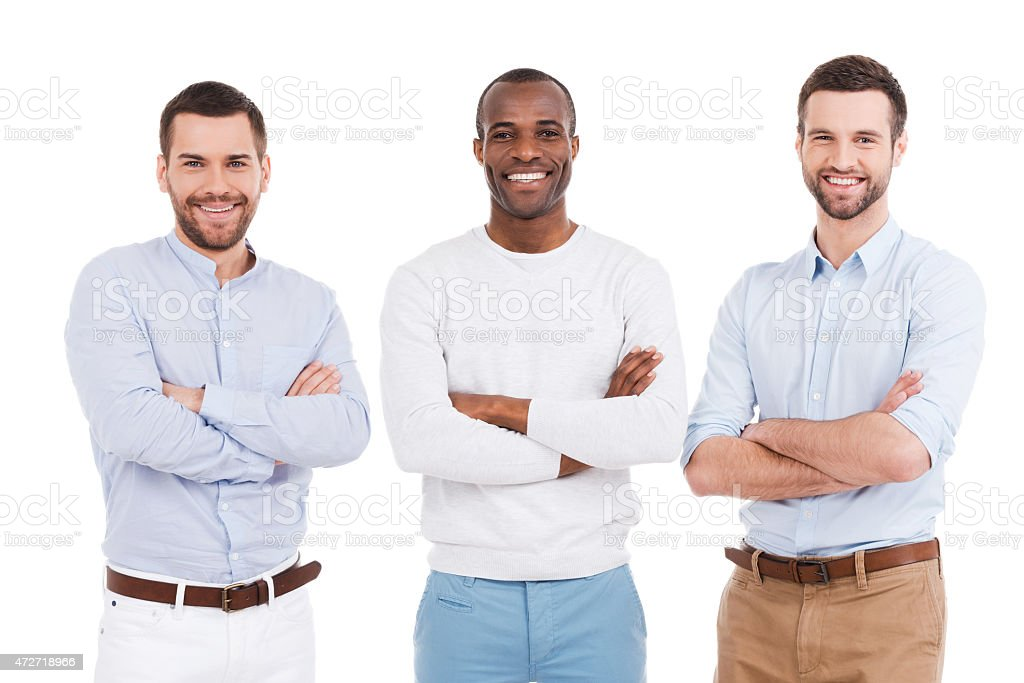 Young and successful. stock photo