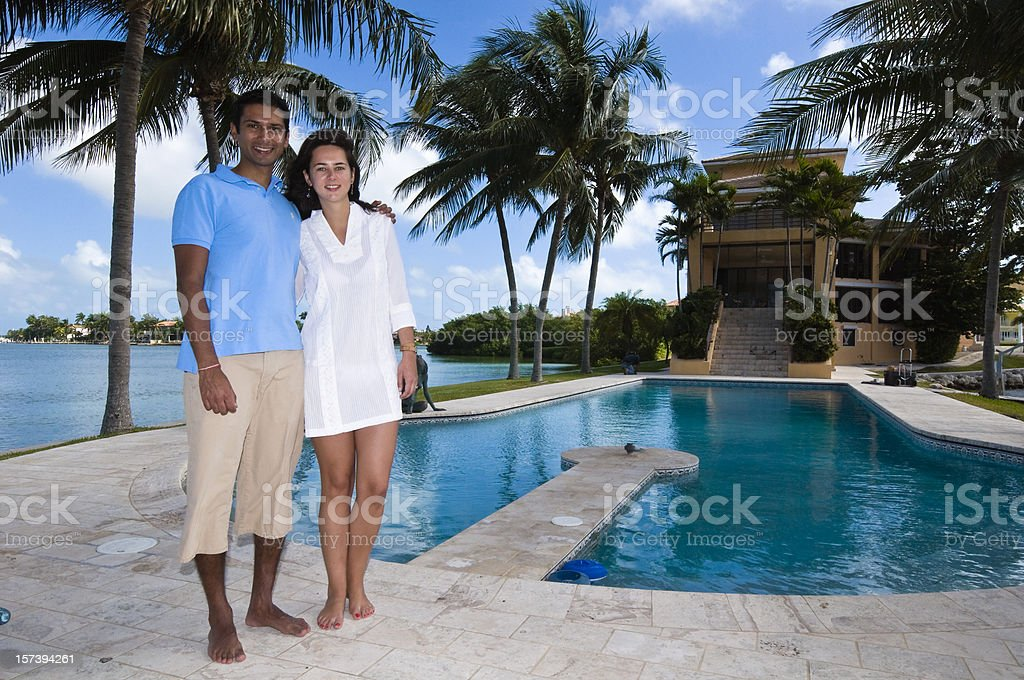 Young and wealthy royalty-free stock photo