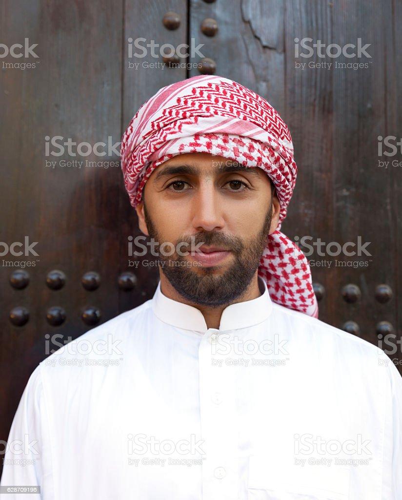 Young arabic man stock photo