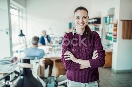istock Young architect 509476442