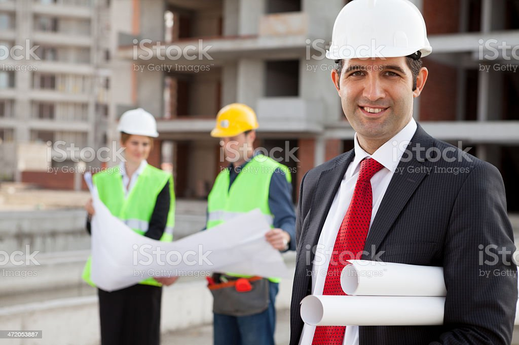 Young Architects royalty-free stock photo