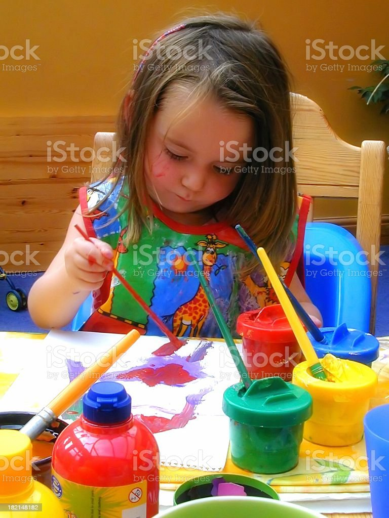 Young artist 3 royalty-free stock photo