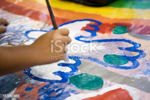 istock Young artist 157287453