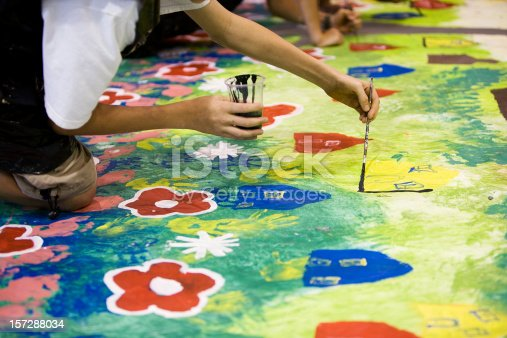 istock Young artist 157288034