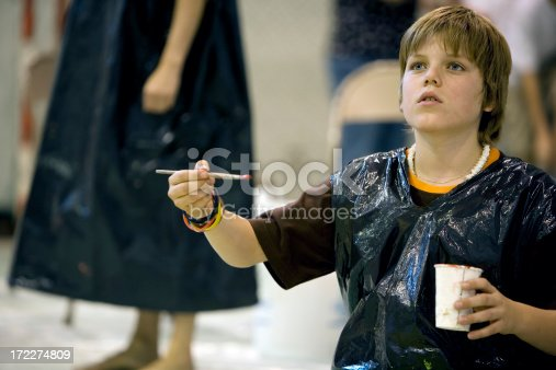 istock Young artist 172274809