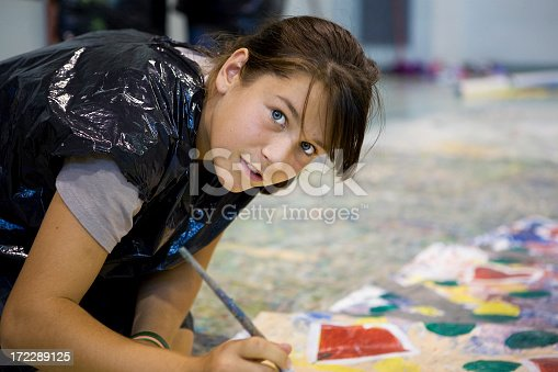 172288907 istock photo Young artist 172289125