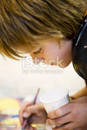 172288907 istock photo Young artist 172289861