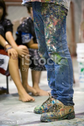 istock Young artist 172374262