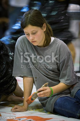 172288907 istock photo Young artist 172382370