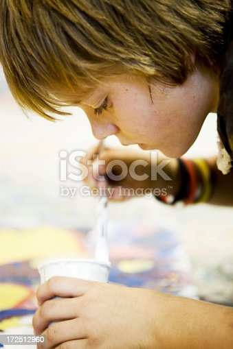 172288907 istock photo Young artist 172512960