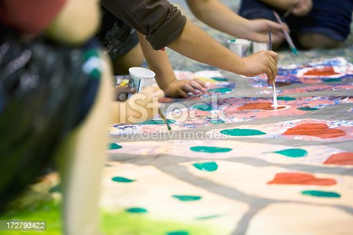 istock Young artist 172793422