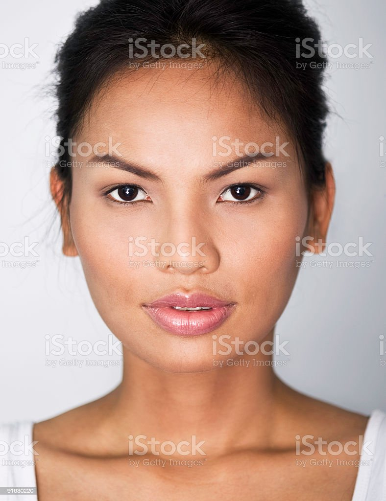 Young Asian Beauty royalty-free stock photo