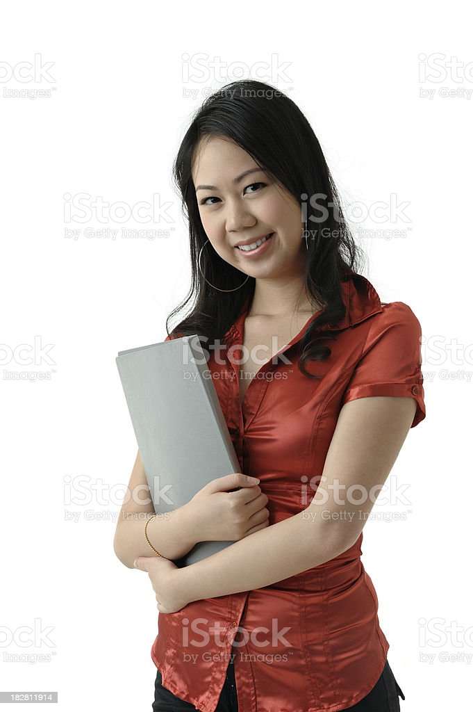 Young Asian Chinese Woman stock photo