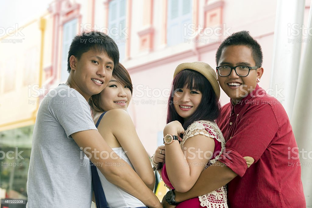 Young Asian Couples royalty-free stock photo