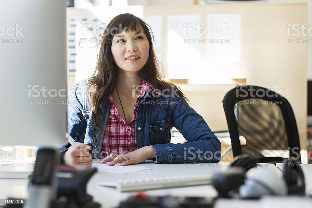 Young Asian Entrepreneurs stock photo