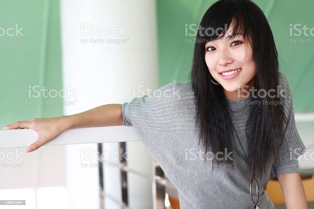 young asian girl royalty-free stock photo