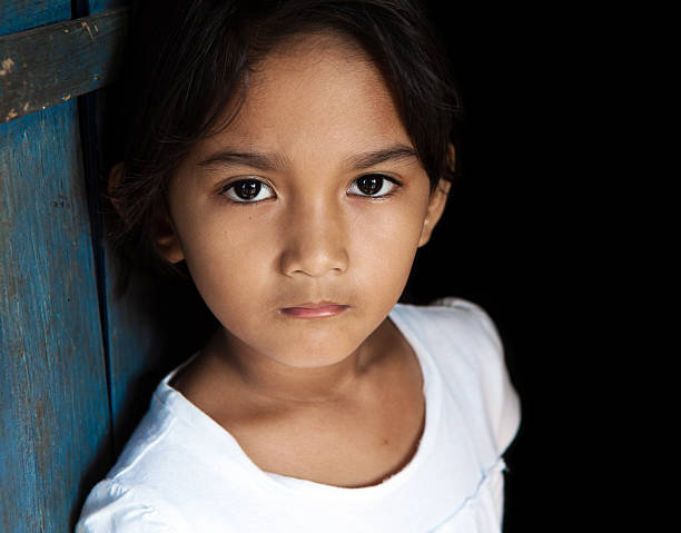 young asian girl portrait - philippines girl stock photos and pictures