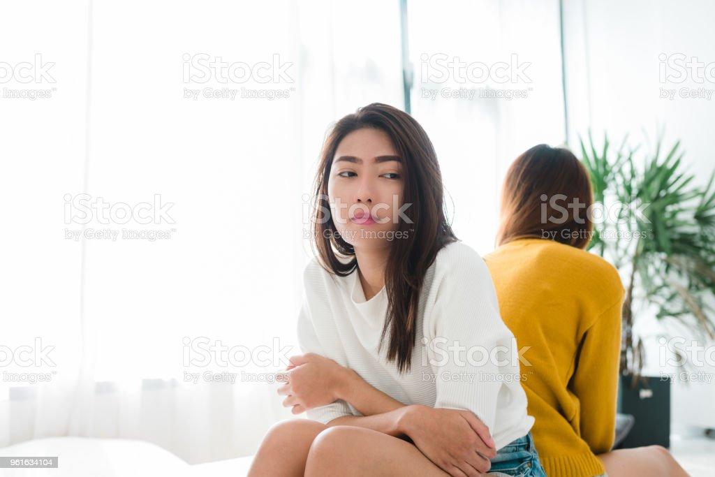 asian lesbian fight