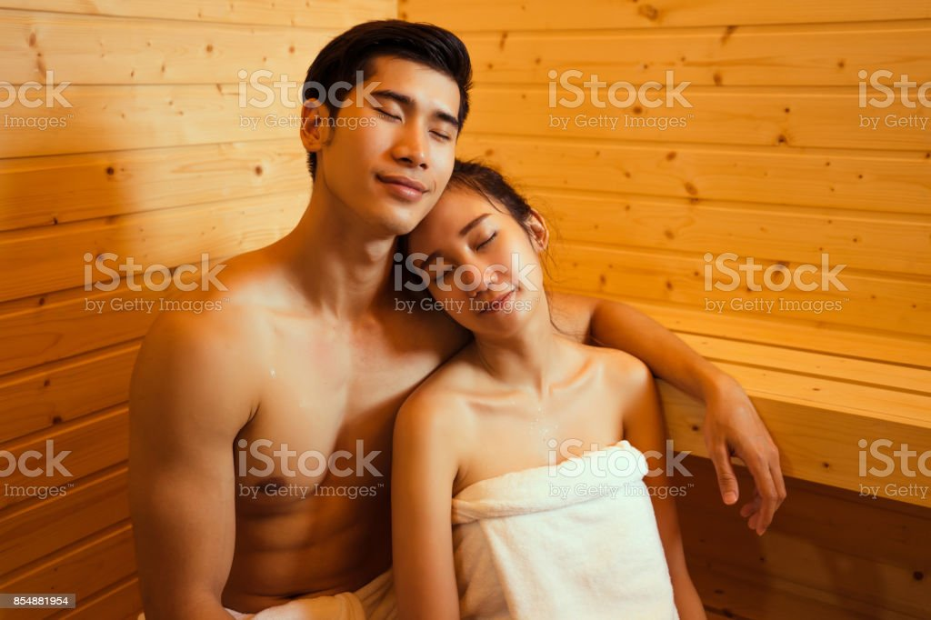 Pussy couple sexy sauna naked