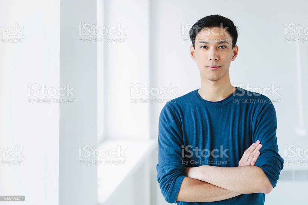 Young Asian Man stock photo