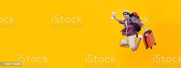 Young asian man tourist jumping with luggage picture id1166716458?b=1&k=6&m=1166716458&s=612x612&h=ie2ia138lidzxhxhdy9phjdzbarf2w08shsz3rlax54=