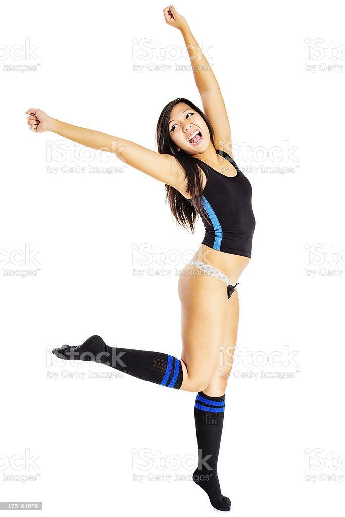 Asain Girl Dancing