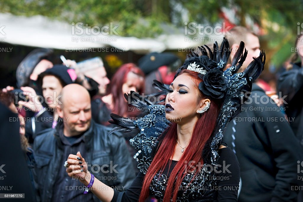 Young Asian Woman In Fantasy Costume On Wgt Leipzig Stock Photo Download Image Now Istock