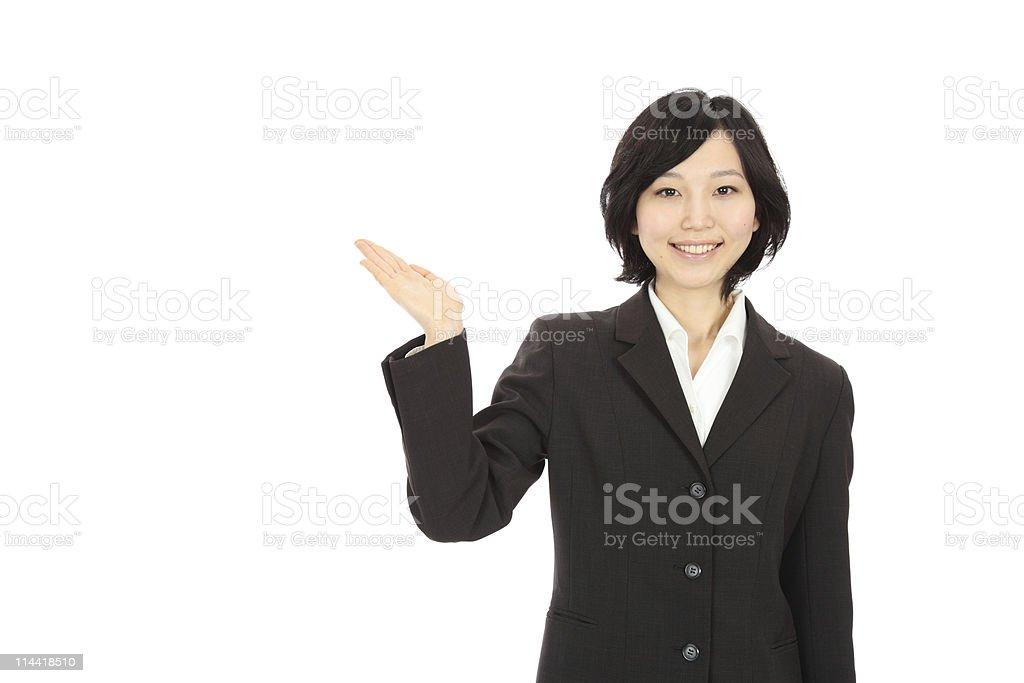 Joven mujer asiática - foto de stock