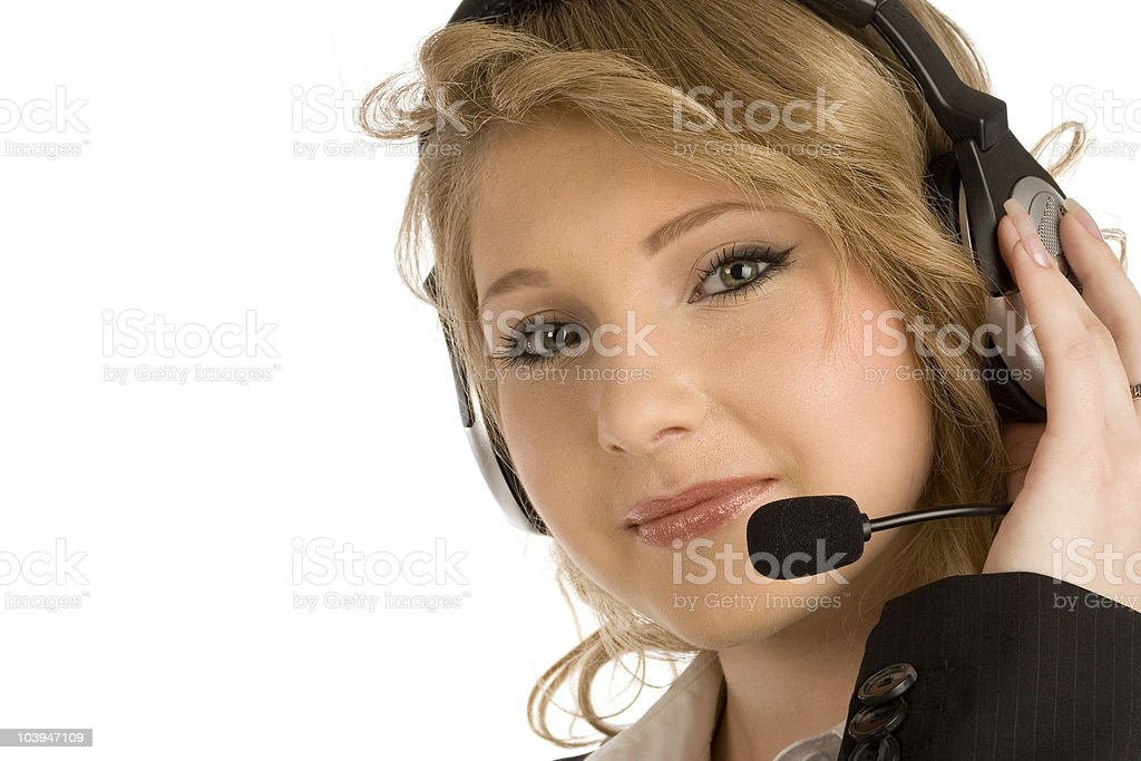 Young Asistance stock photo