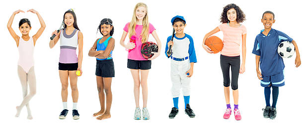 Young Athletes stock photo