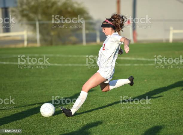 Young athletic girl playing with a soccer ball in a green grass field picture id1133404317?b=1&k=6&m=1133404317&s=612x612&h=fs0wfnhogsqegpgsge 0i7el2rzm80cx3vxblyakkv0=