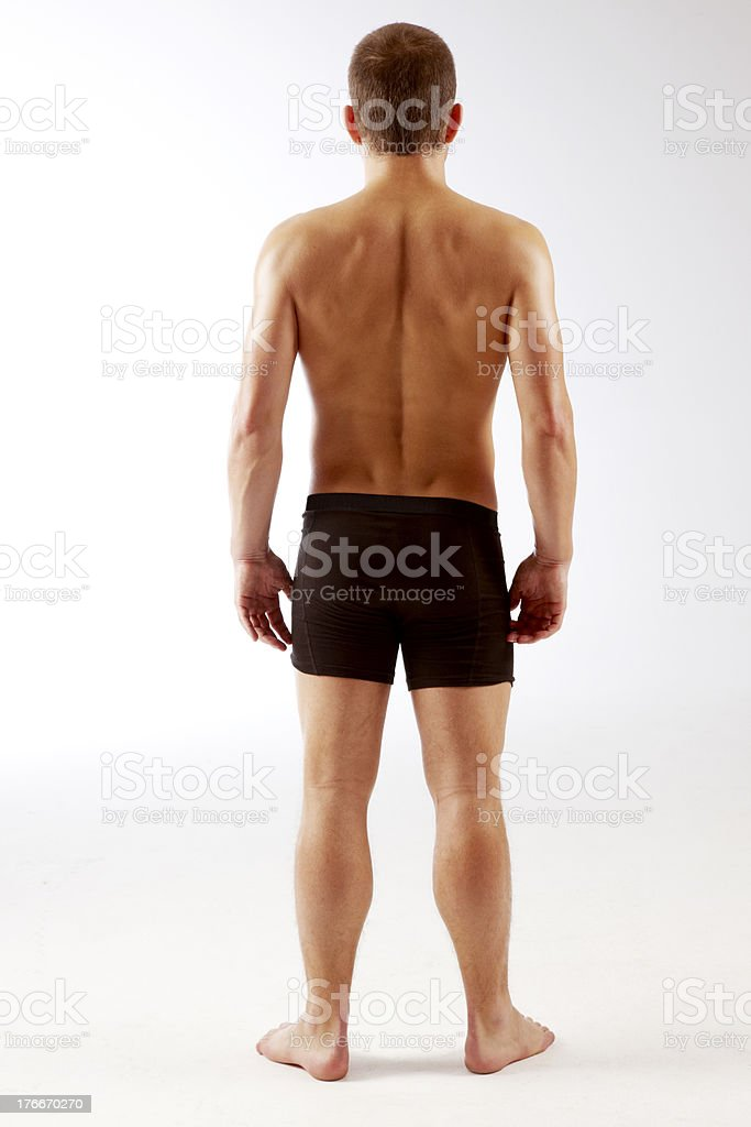 Young Athletic Guy royalty-free stock photo