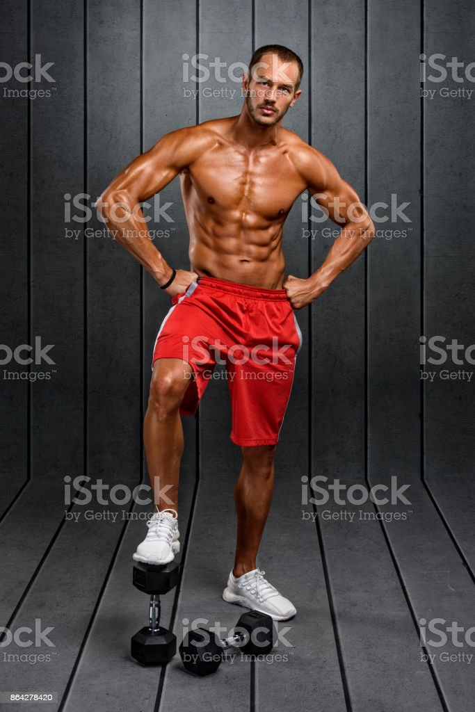 Young Athletic Men royalty-free stock photo