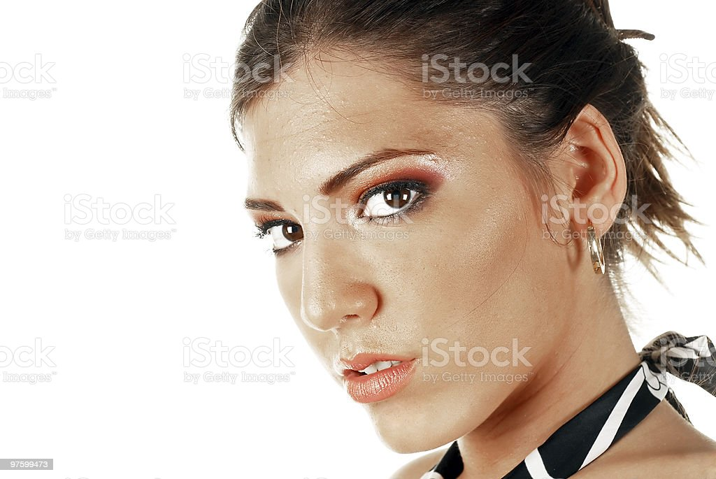Young attractive female royalty-free stock photo