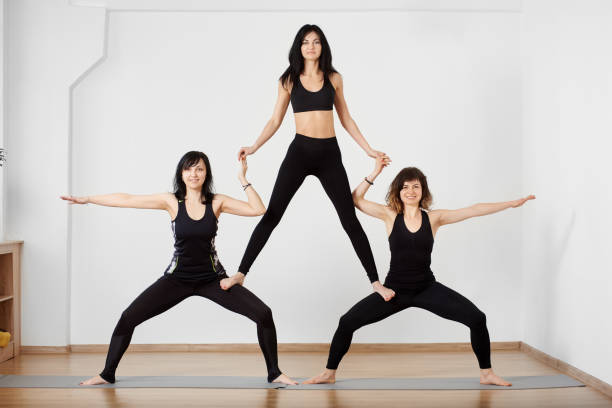 40 Most Popular 3person Yoga Challenge Aigautoins