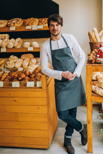 istock Young baker 639897976