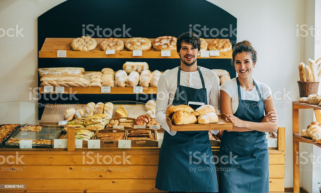 Young bakers - Photo