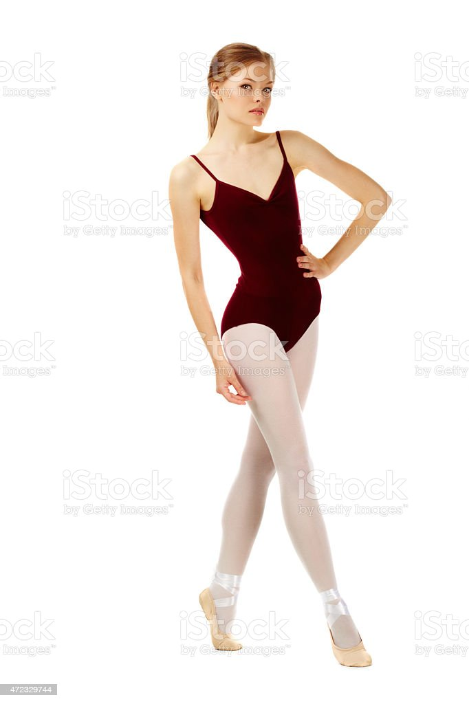 Kleine ballerina Lizenzfreies stock-foto