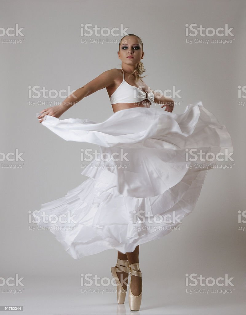 Young ballet dancer royalty-free stock photo
