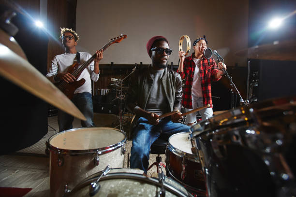 young band - musician stock photos and pictures