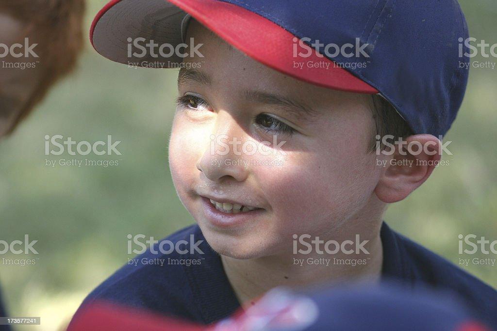 Young Baseball Player 2 stock photo