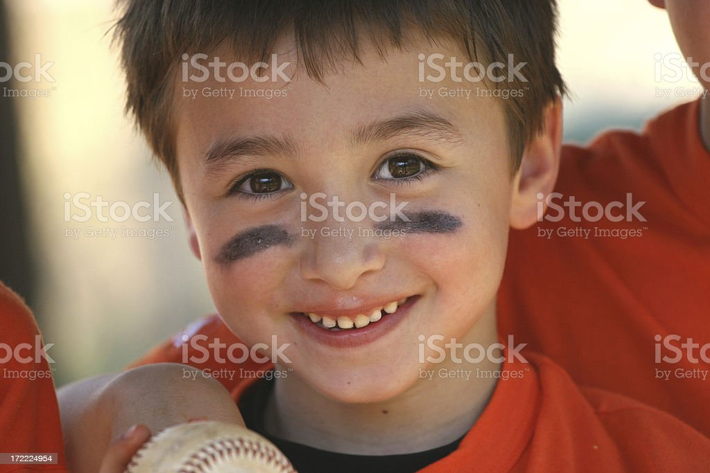 Young Baseball Player royalty-free stock photo